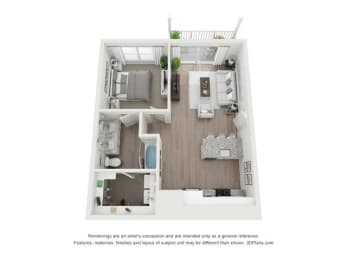 Floor Plan Harding