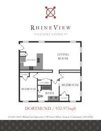 Floor Plan The Dortmund