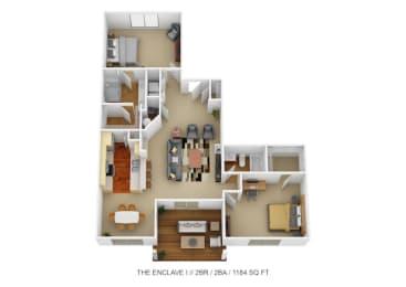 Floor Plan The Enclave I