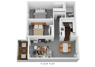 Floor Plan The Montia