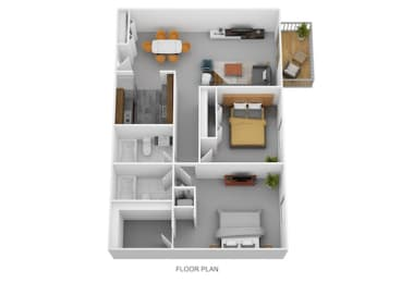 Floor Plan The Palmer