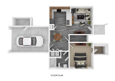 A2G Floor Plan at The Emerson, Pflugerville, 78660