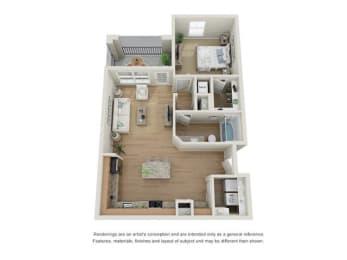 Sydney Floor Plan at Century Dunes, Deland, FL, 32724