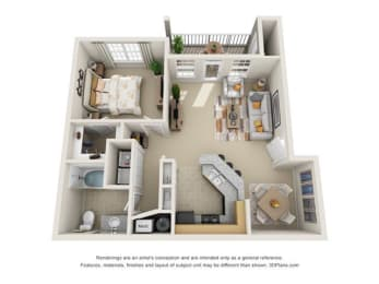The Birch Floor Plan at Haven North East, Georgia