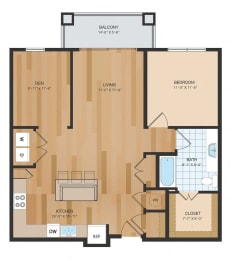 NEW PHASE A2 Floor Plan at The Residences at Park Place, Leawood, Kansas