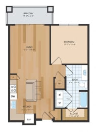 NEW PHASE A1 Floor Plan at The Residences at Park Place, Leawood