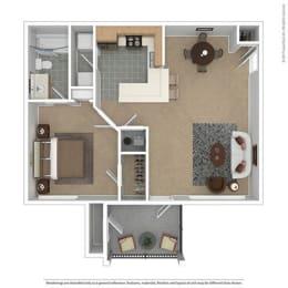 Floor Plan The Cottage