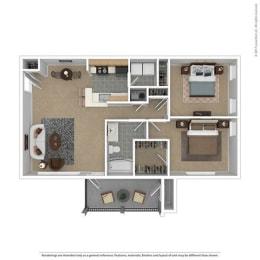 Floor Plan The Villa