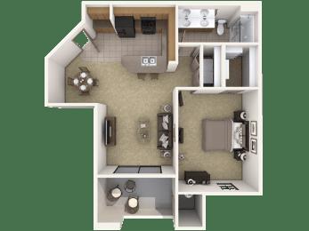 Floor Plan A2 Premier