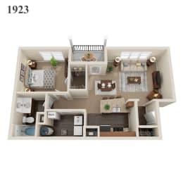 1923 floor plan