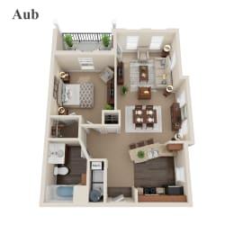 Aub floor plan