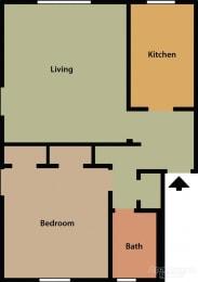 1bedroom floorplan