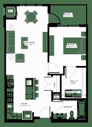 Floor Plan  Nuvelo at Parkside Apartments in Apple Valley, MN Floor Plan