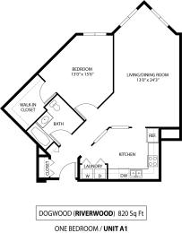 Dogwood floorplan at The Riverwood, Lilydale, 55118