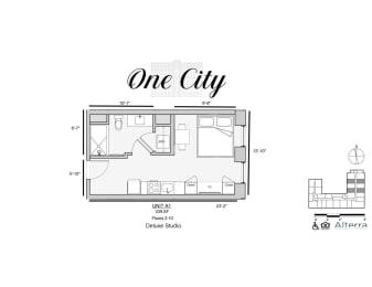 One City A1 floor plan