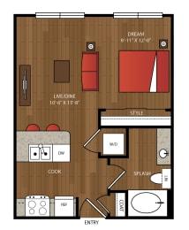 Ella Apartments S1 Floor Plan
