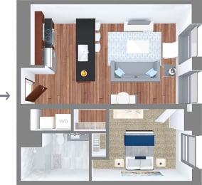 Floor Plan Suite Style B1