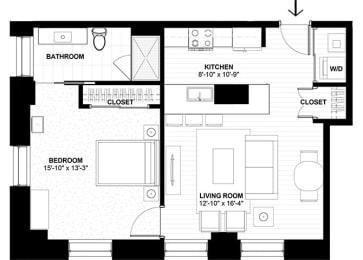 Floor Plan Suite Style G1