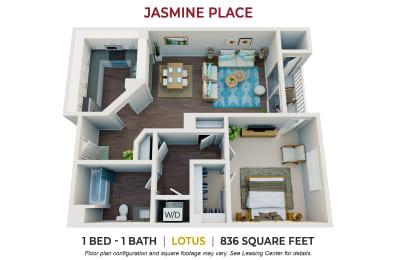 Floor Plan Lotus