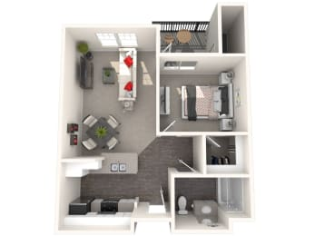 Palermo Floor Plan at 55+ FountainGlen Rancho Santa Margarita, Rancho Santa Margarita, 92688
