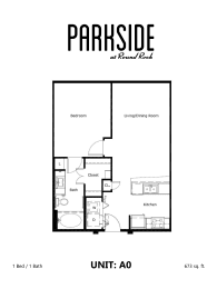 Parkside at Round Rock Apartments A0 Floor Plan
