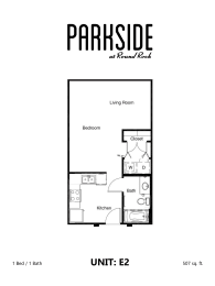 Parkside at Round Rock E2 Floor Plan