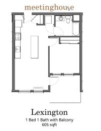 Meetinghouse Apartments Lexington Floor Plan