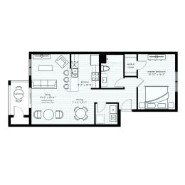 The Camden - Premium View Floorplan