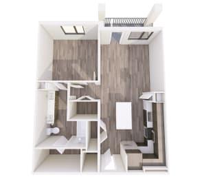 Floor Plan A1C