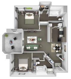 Antelope Ridge - B1 Eland - 2 bedroom