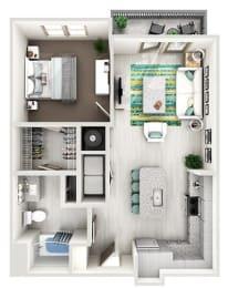 Floor Plan The Franklin - A2