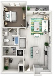 Floor Plan The Nolen - A3