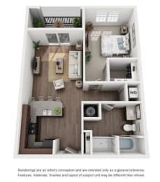 Floor Plan A1R