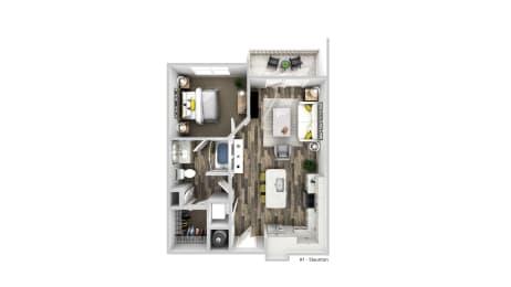 Floor Plan The Staunton - A1