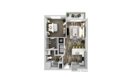 Floor Plan The Sentries - A2