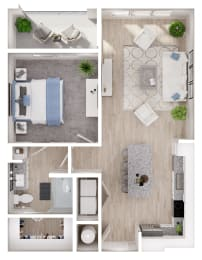 Floor Plan A1-1 A