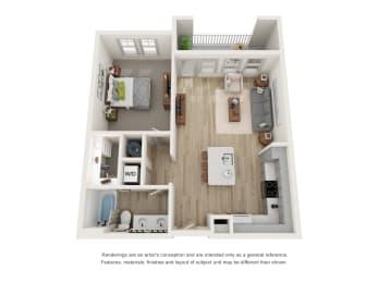 Floor Plan A2 - The Curie