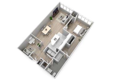 Park Square 1 Bedroom + Den