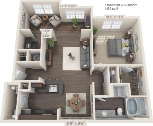 Floor Plan Apex - S