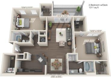 Floor Plan Horizon - D