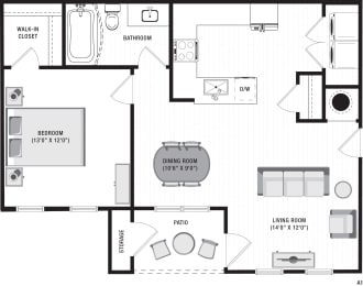 Avalon A1 Floor Plan