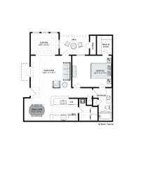 Reserve at Wescott Woods Sunroom Floor Plan