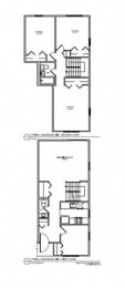 Floor Plan 3 BR 1.5 BA