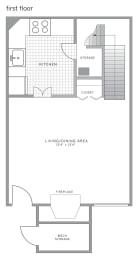 Floor Plan  A1 Floor Plan at Blue Bell Villas, Blue Bell, PA
