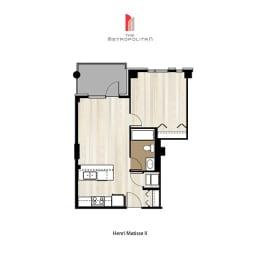 Floor Plan Henri Matisse 2
