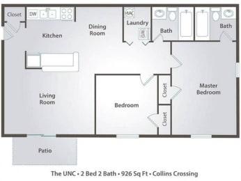 UNC Floor Plan