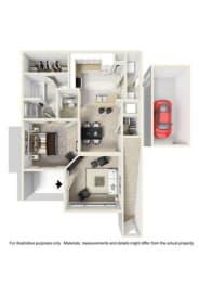 Floor Plan The Ocoee,The Emory