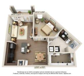 Floor Plan Applewood - A3