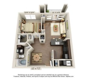 Floor Plan Aspen Meadows - A2