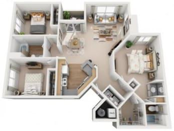 Santa Ana Floor Plan |Links at High Resort